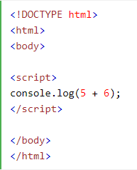 console.log in javascript